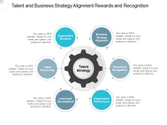 Talent And Business Strategy Alignment Rewards And Recognition Ppt PowerPoint Presentation Summary Icon