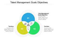 Talent Management Goals Objectives Ppt PowerPoint Presentation Summary Icon Cpb
