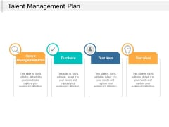 Talent Management Plan Ppt Powerpoint Presentation Infographic Template Samples Cpb