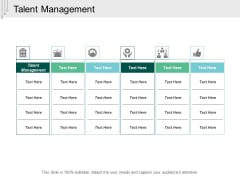 Talent Management Ppt PowerPoint Presentation Styles Example  Cpb
