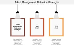 Talent Management Retention Strategies Ppt PowerPoint Presentation Outline Introduction