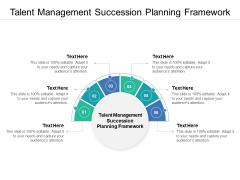 Talent Management Succession Planning Framework Ppt PowerPoint Presentation Professional Slides Cpb