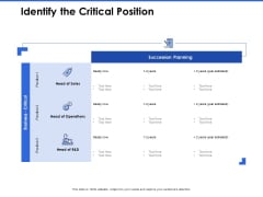 Talent Management Systems Identify The Critical Position Ppt Ideas Brochure PDF