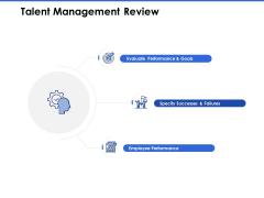 Talent Management Systems Talent Management Review Ppt Slides Templates PDF