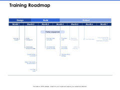 Talent Management Systems Training Roadmap Ppt Icon Pictures PDF