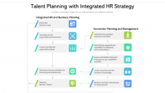 Talent Planning With Integrated HR Strategy Ppt Icon Ideas PDF