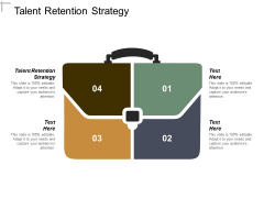 Talent Retention Strategy Ppt PowerPoint Presentation Portfolio Show