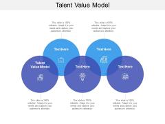 Talent Value Model Ppt PowerPoint Presentation Outline Format Ideas Cpb