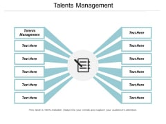 Talents Management Ppt PowerPoint Presentation Styles Show