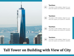 Tall Tower On Building With View Of City Ppt PowerPoint Presentation Slides Graphic Images PDF