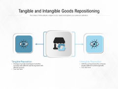 Tangible And Intangible Goods Repositioning Ppt PowerPoint Presentation Inspiration Diagrams PDF