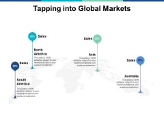Tapping Into Global Markets Ppt PowerPoint Presentation Summary Tips