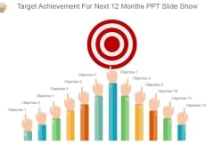 Target Achievement For Next 12 Months Ppt Slide Show