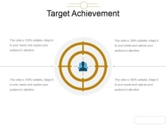 Target Achievement Ppt PowerPoint Presentation Background Images
