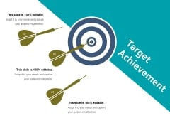 Target Achievement Ppt PowerPoint Presentation File Design Inspiration