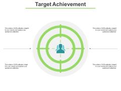 Target Achievement Ppt PowerPoint Presentation Layouts Master Slide