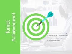 Target Achievement Ppt PowerPoint Presentation Model