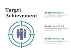 Target Achievement Ppt PowerPoint Presentation Styles Show