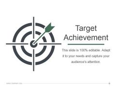 Target Achievement Ppt PowerPoint Presentation Styles