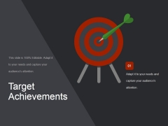 Target Achievements Ppt PowerPoint Presentation Guide
