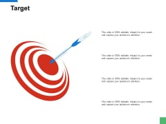 Target Arrow Goal Ppt PowerPoint Presentation Model Icons