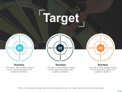 target arrow ppt powerpoint presentation file structure
