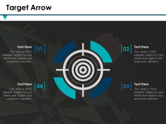 Target Arrow Ppt PowerPoint Presentation Ideas Layouts