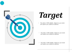 target arrow ppt powerpoint presentation layouts template