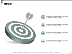 Target Arrow Ppt Powerpoint Presentation Pictures Brochure