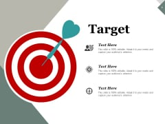 Target Arrow Ppt PowerPoint Presentation Show Display