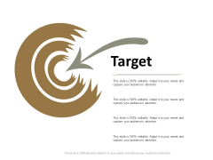 Target Arrow Ppt Powerpoint Presentation Slides Professional