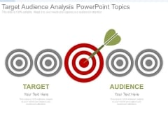 Target Audience Analysis Powerpoint Topics
