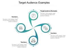 Target Audience Examples Ppt PowerPoint Presentation Outline Clipart Images Cpb