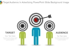 Target Audience In Advertising Powerpoint Slide Background Image