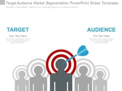 Target Audience Market Segmentation Powerpoint Slides Templates