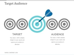 Target Audience Ppt PowerPoint Presentation Deck