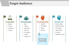 Target Audience Template 1 Ppt PowerPoint Presentation Icon Infographics