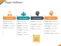 Target Audience Template 1 Ppt PowerPoint Presentation Icon Inspiration