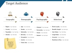 Target Audience Template 1 Ppt PowerPoint Presentation Summary Inspiration