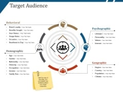 Target Audience Template 2 Ppt PowerPoint Presentation Outline Example