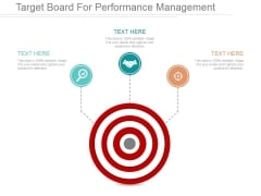 Target Board For Performance Management Ppt PowerPoint Presentation Example