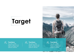 Target Business Marketing Ppt PowerPoint Presentation Infographics Examples