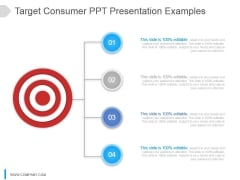 Target Consumer Ppt Presentation Examples