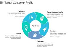 Target Customer Profile Ppt PowerPoint Presentation Portfolio Show Cpb Pdf