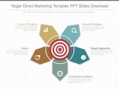 Target Direct Marketing Template Ppt Slides Download