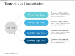 Target Group Segmentation Ppt PowerPoint Presentation Gallery