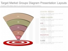 Target Market Groups Diagram Presentation Layouts