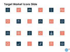 Target Market Icons Slide Ppt Professional Templates PDF