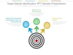 Target Market Identification Ppt Sample Presentations