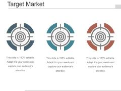 Target Market Ppt PowerPoint Presentation Ideas